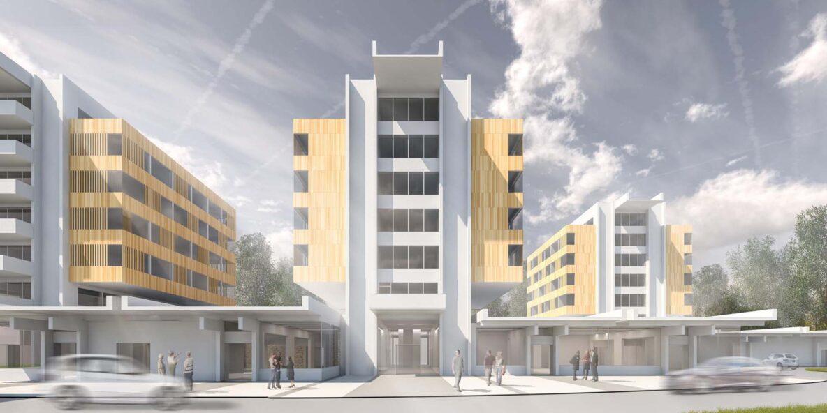 Vizualizacije in renderji diplomeAvtor arhitekture Katarina Mravlja FA UL